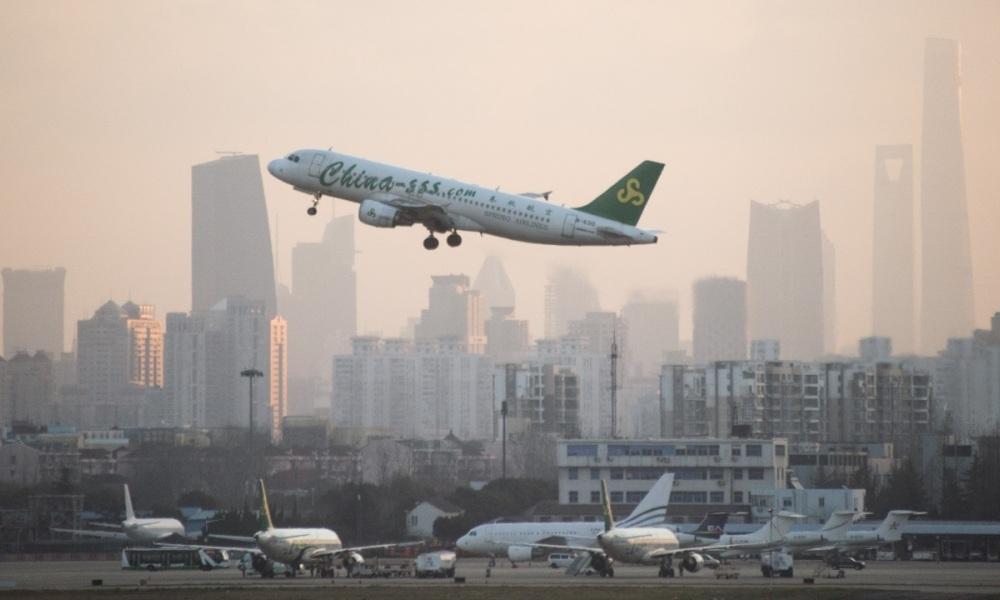 aéroport de Shangai
