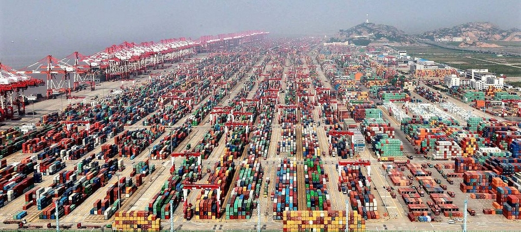 Port de Shangai
